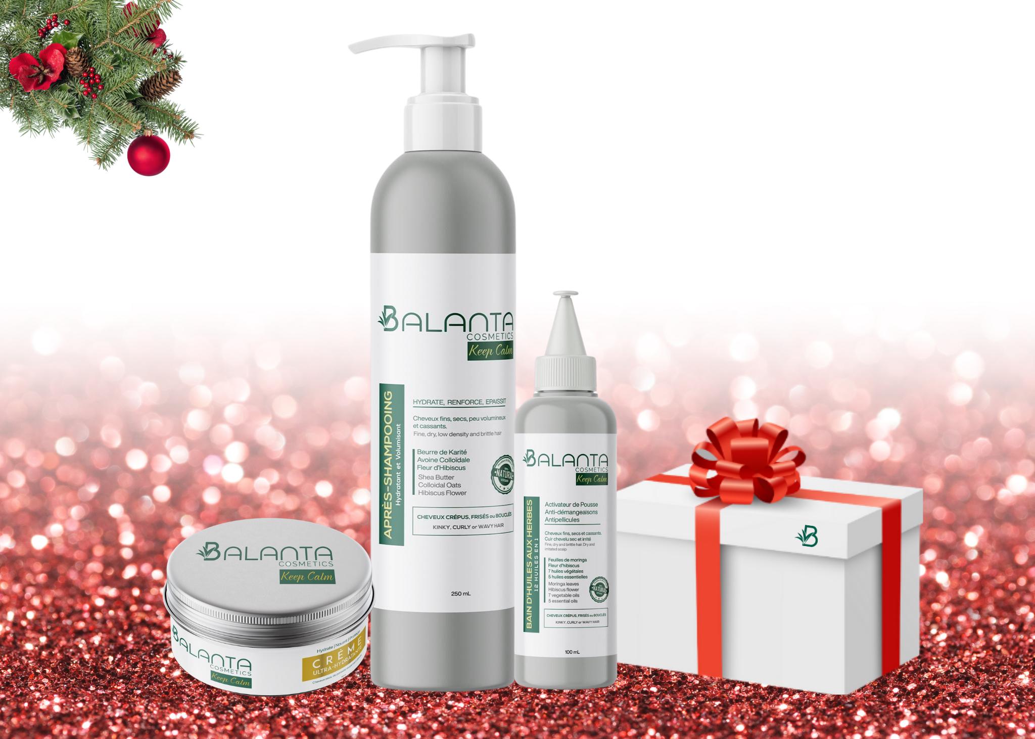 Balanta_Cosmetics_Coffret de Noël - Nourris Moi